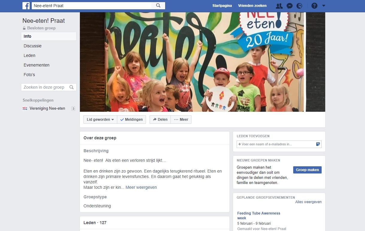 Nieuwe Website En Besloten Facebookgroep