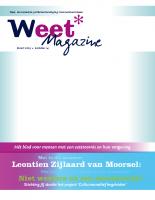 Weet – interview Marianne van Leeuwen